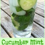 Cucumber Mint Vodka Refresher is an easy recipe that will quickly become a favorite summertime cocktail! Cool cucumber, fresh mint, vodka and seltzer combine for the perfect summer happy hour drink!