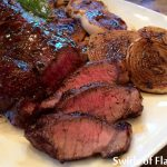 Balsamic Glazed Sirloin Steak & Onions