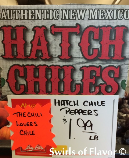 Hatch Chiles sign