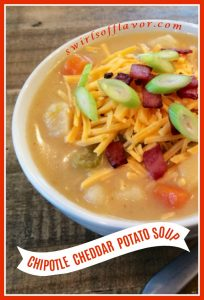 Chipotle Cheddar Potato Soup