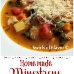 Pesto Minestrone Soup