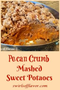 Pecan Crumb Sweet Potato