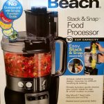Hamilton Beach #StackandSnap 10-Cup Food Processor Winner!