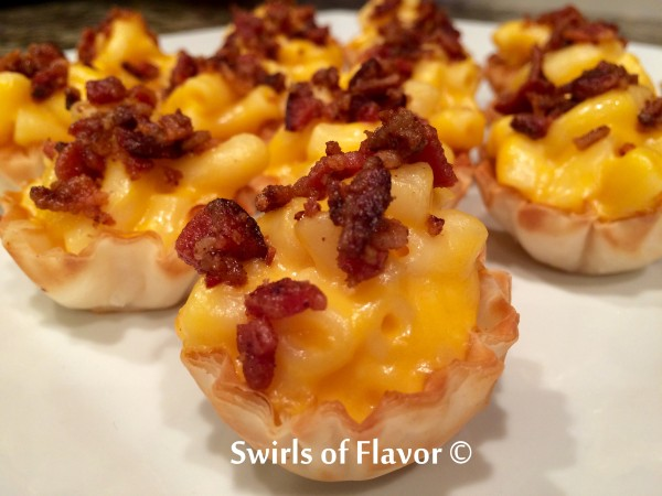 Bacon Mac 'N Cheese Bites