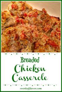 Baked Panko chicken