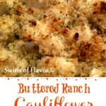 Buttered Ranch Cauliflower