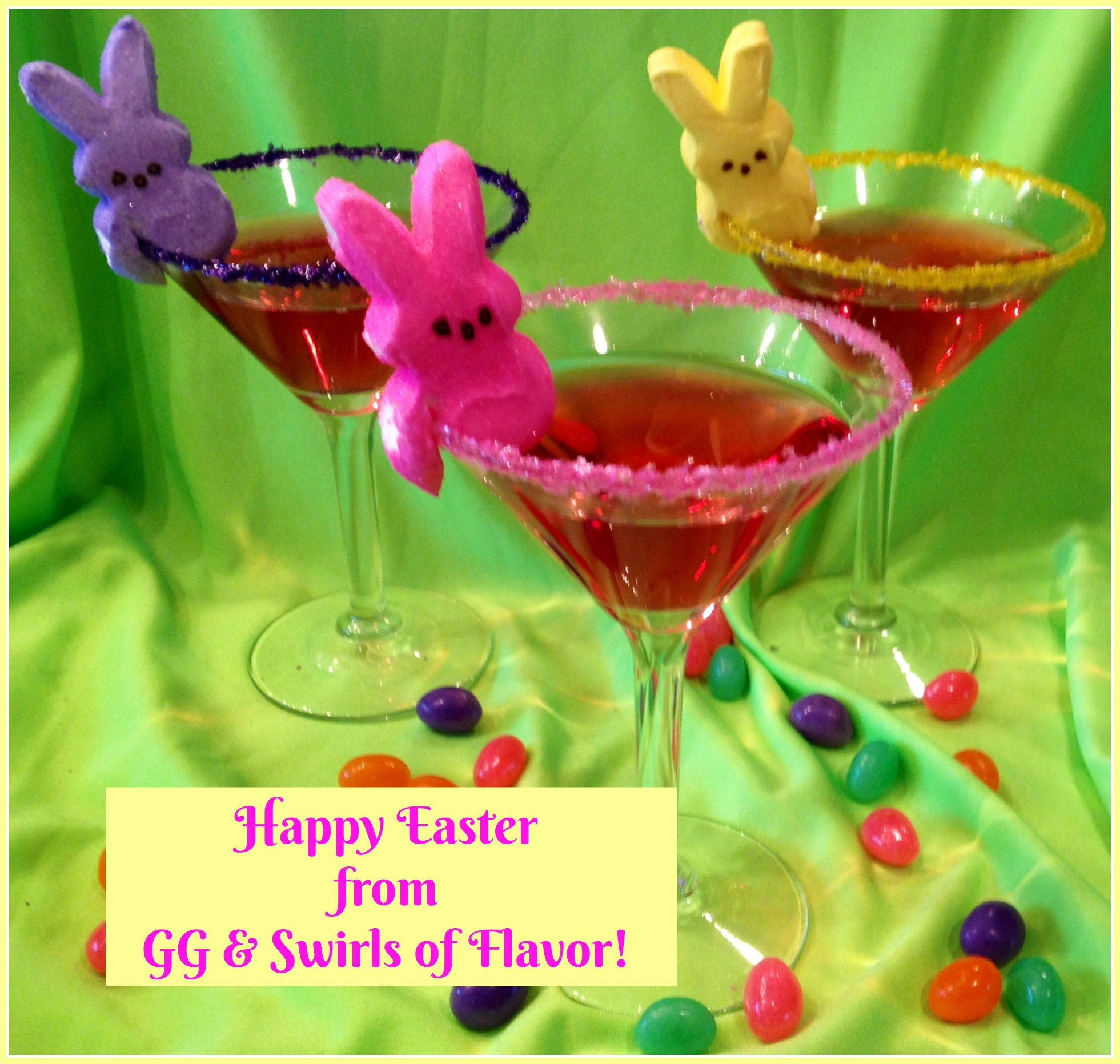 Happy Easter with Peep-tinis