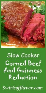 Let your slow cooker do the work with Slow Cooker Corned Beef & Guinness Reduction .The flavors of Guinness, brown sugar and horseradish mustard will simmer in your slow cooker and infuse your corned beef! cockpot | corned beef | St. Patrick's Day | dinner | holiday | easy recipe