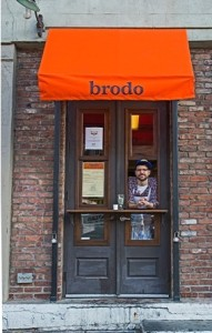 Brodo take-out window. Photo courtesy of Tasting Table.