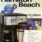 Hamilton Beach 2-Way FlexBrew Coffeemaker Giveaway Winner