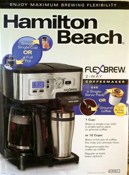 Hamilton Beach 2-Way Coffeemaker