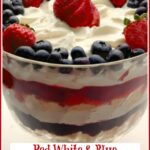 Bery Trifle in trifle bowl with pedestal