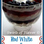 Berry Trifle in pedestal bowl