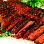 Grilled Skirt Steak with Cocoa Spice Rub