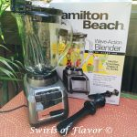 Hamilon Beach Wave-Action Blender Giveaway Winner!