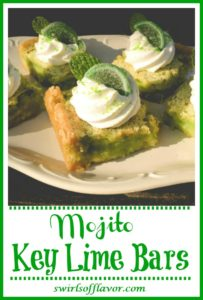 Mojito Key Lime Bars