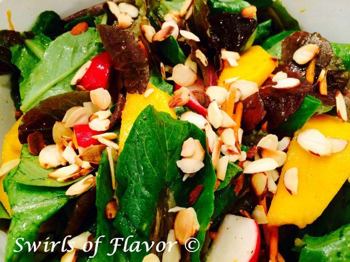 Almond Mango Salad