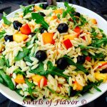 Blueberry Peach Orzo