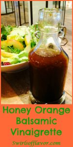 Honey Orange Balsamic Vinaigrette is an easy homemade vinaigrette recipe that combines the perfect balance of sweetness with the crisp edginess of citrus notes.