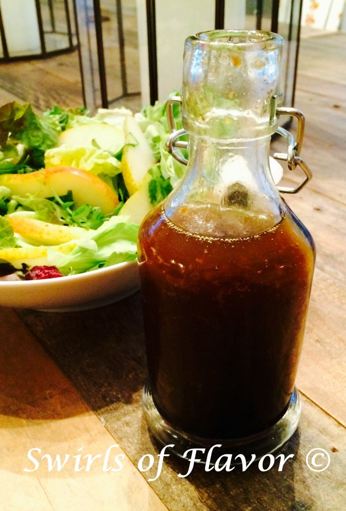 Honey Orange Balsamic Vinaigrette combines the perfect balance of sweetness with the crisp edginess of citrus notes. honey | orange | citrus | salad dressing | vinaigrette | balsamic | balsamic vinaigrette | homemade