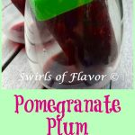 Pinot Noir, pomegranate juice and a fresh plum are all frozen to perfection in this easy winescicles recipe for Pomegranate Plum Wine Ice Pops!