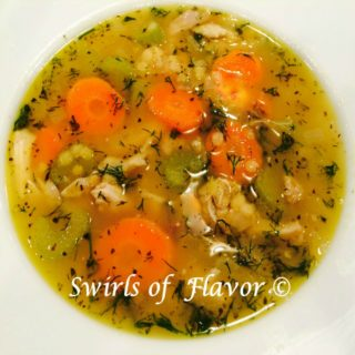 Bowl of 'Chicken Lentil Soup
