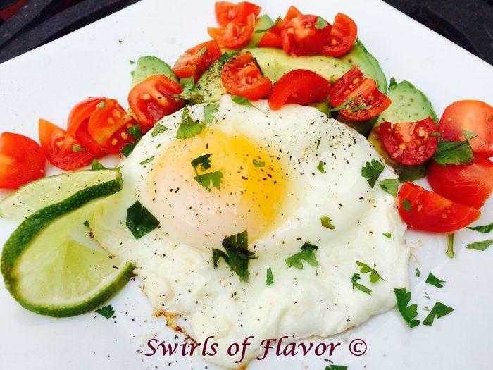Avocado Lime Egg Breakfast