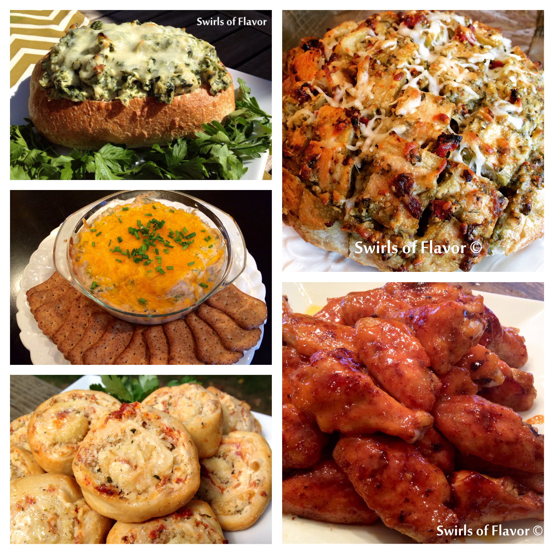 More Thanksgiving Appetizer Recipes