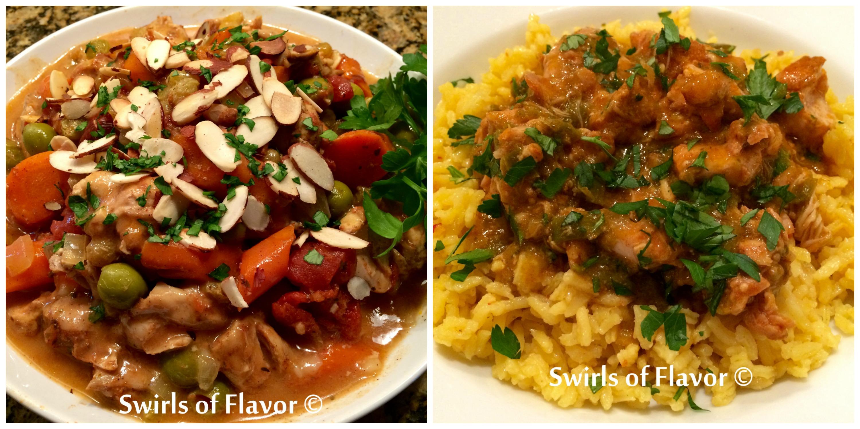 Moroccan Chicken and Salsa Verde Chicken