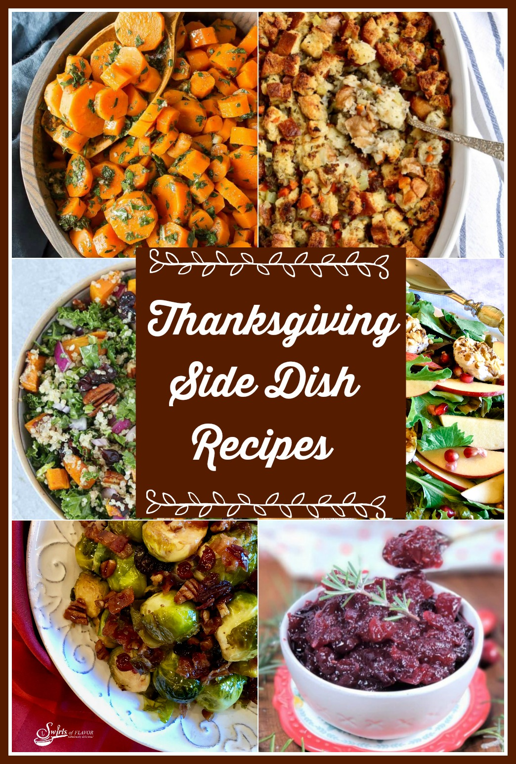 Thanksgiving Side Dish Recipes Round Up