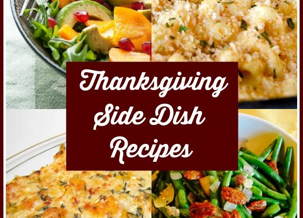 Thanksgiving Side Dish Round Up