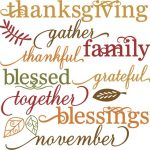 Happy Thanksgiving from Swirls!