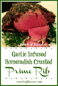 Garlic Infused Rib Roast