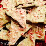 No-Bake Peppermint Bark Cookies