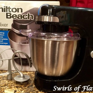 Hamilton Beach Stand Mixer Review & Giveaway #Hamiltonbeach