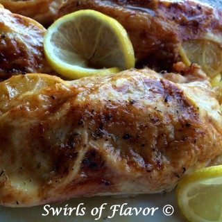Oven Roasted Lemon Thyme Chicken