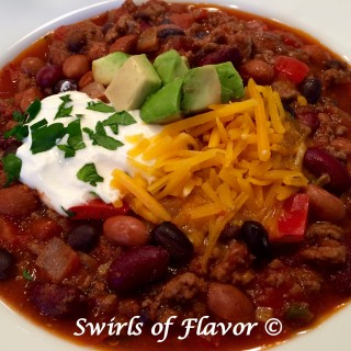 Triple Bean Chili