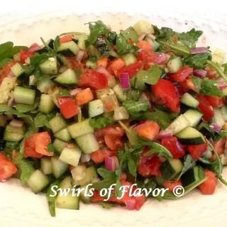 Chopped Salad With Arugula