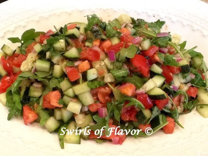 Chopped Salad With Arugula
