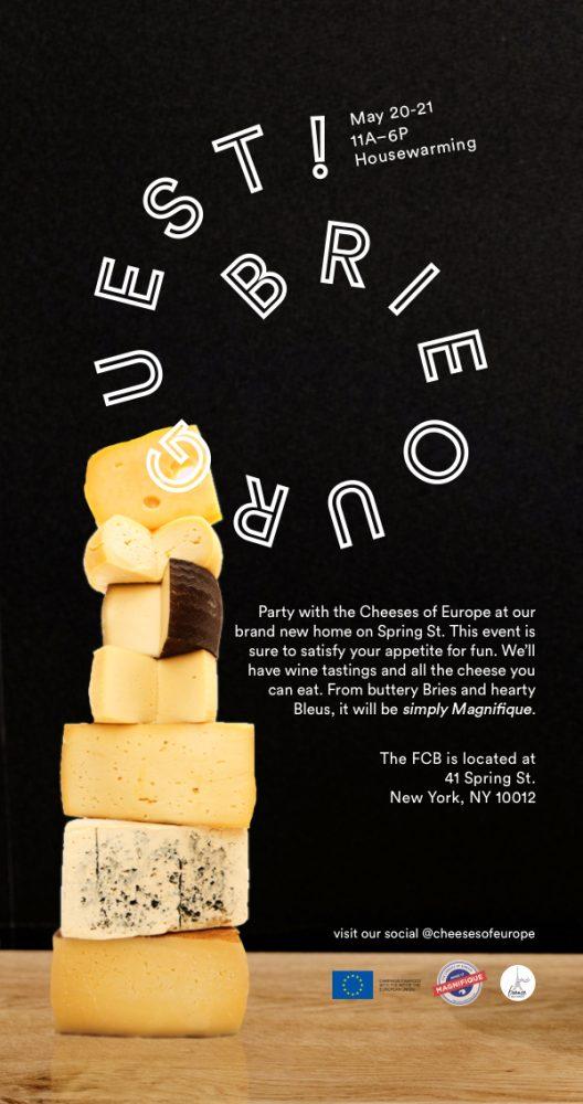 Cheese Housewarming Invite