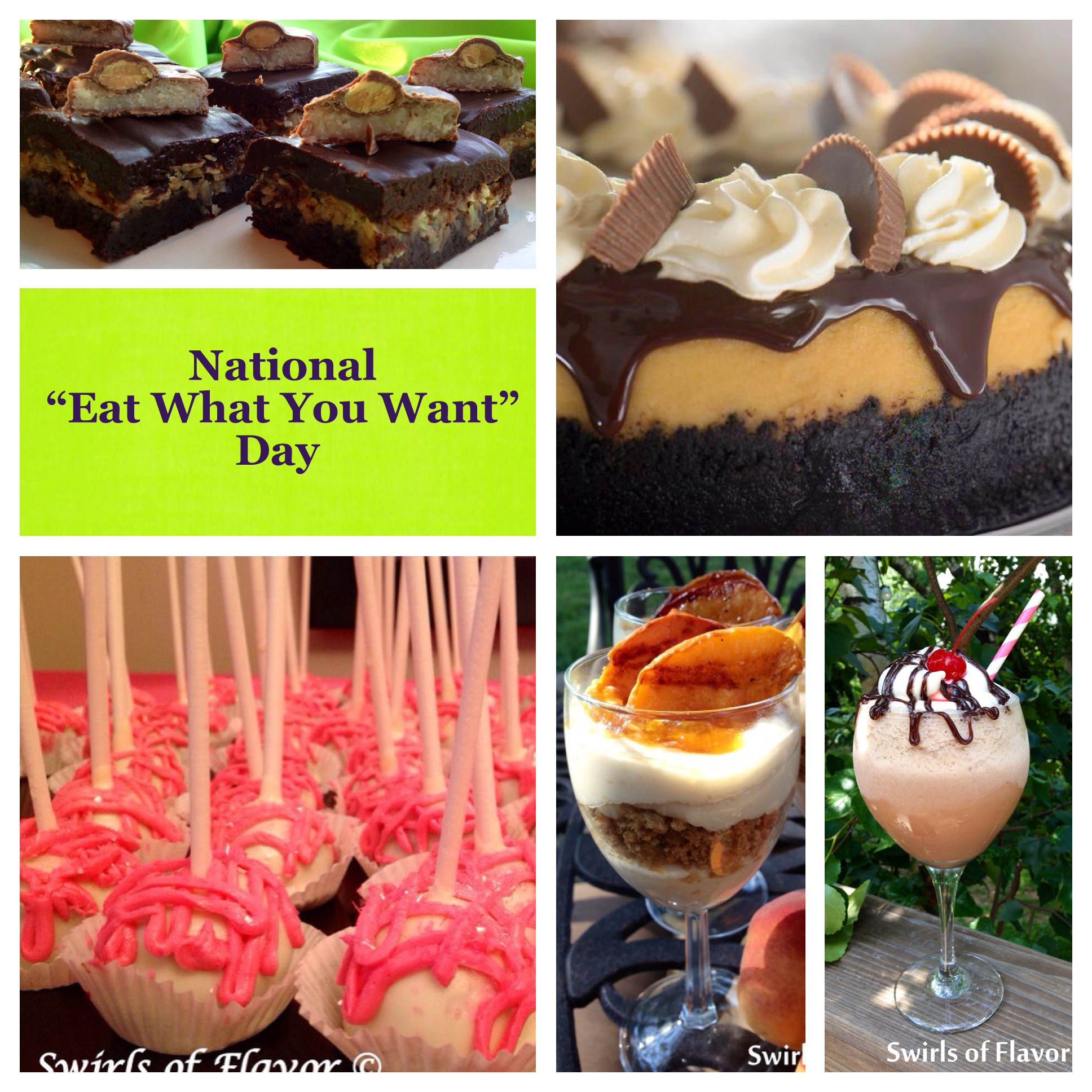 Eat What You Want Day: National Eat What You Want Day!#NationalEatWhatYouWantDay