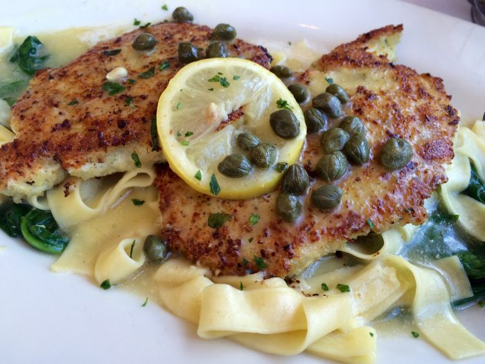 Chicken Piccata, tender thin chicken breasts in a light lemon sauce with tangy capers, is a classic dish that every cook needs to have in their recipe line up! easy | recipe | dinner | chicken | Italian | classic | lemon | capers | recipe