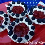 Festive and patriotic No-Bake Berry Tartlets are bursting with a citrus kissed strawberry filling and crowned with fresh blueberries. no-bake | tartlets | berry | strawberry | blueberry | dessert | barbecue | picnic | July Fourth | Memorial Day | Labor Day