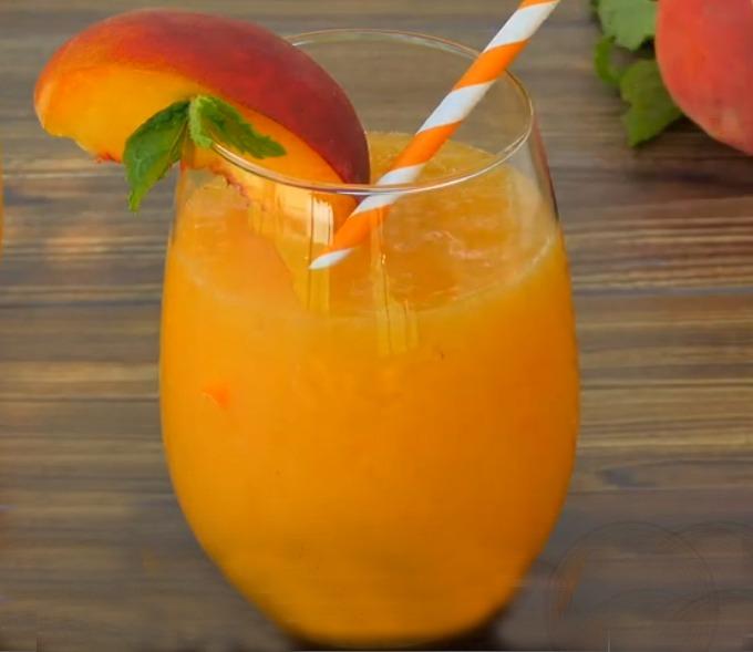 Peach Bellini Slushy