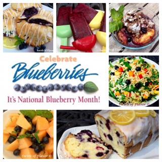 Have a bushel of blueberries? Look no further for fabulous blueberry recipes to last all season long! ice pops | blueberry | bluberries | cobbler | fruit salad | blueberry cake | orzo | pasta salad