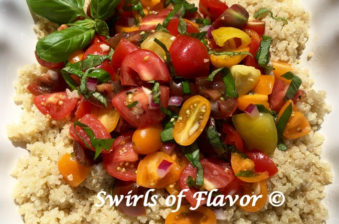Heirloom Tomato Bruschetta Quinoa (3)