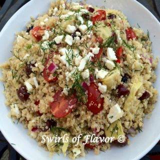 Quinoa with Feta and Dill