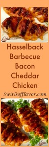 Hasselback Barbecue Bacon Cheddar Chicken Pinterest