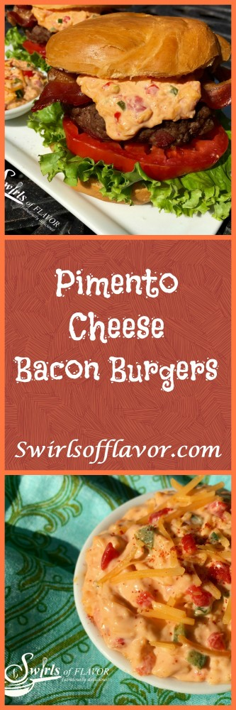 Pimento Cheese Bacon Burgers-Pinterest