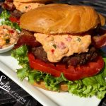 Pimento Cheese Bacon Burgers
